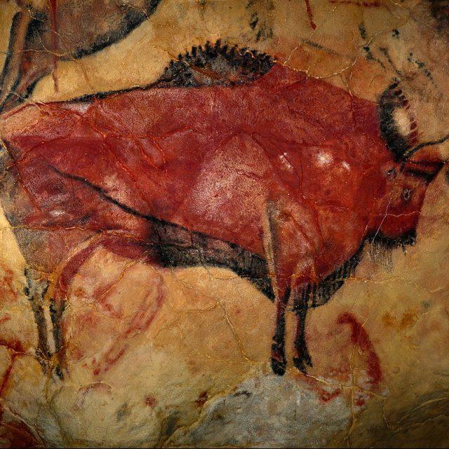 Altamira Bison Cave Painting